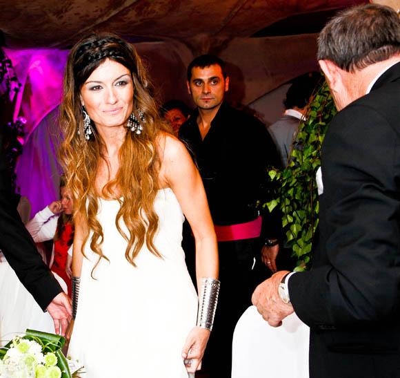 Vestido madame de rosa boda dulceida